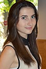 Ukrainian girl Irina ,20 years old with grey eyes and light brown hair.