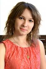 Ukrainian girl Inna ,26 years old with brown eyes and dark brown hair.