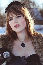 Ukrainian girl Valeria,23 years old with grey eyes and light brown hair.