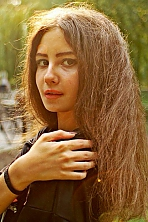Ukrainian girl Maryna ,20 years old with brown eyes and dark brown hair.