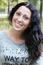 Ukrainian girl Janka,22 years old with brown eyes and dark brown hair.