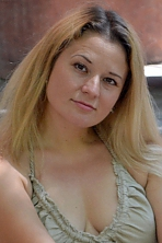 Ukrainian girl Ludmila,37 years old with  eyes and  hair.