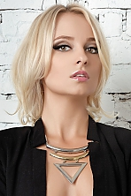 Ukrainian girl Alyona,24 years old with brown eyes and blonde hair.