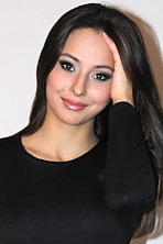 Ukrainian girl Violetta,25 years old with brown eyes and dark brown hair.