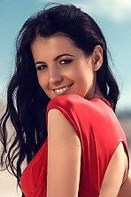 Ukrainian girl Irina,27 years old with brown eyes and black hair.