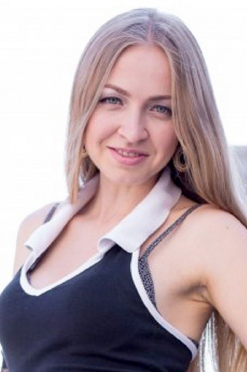 Ukrainian girl Elena,26 years old with blue eyes and blonde hair.