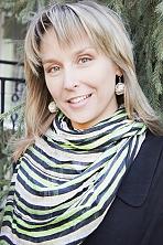 Ukrainian girl Lyudmila,37 years old with hazel eyes and blonde hair.