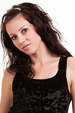 Ukrainian girl Lubov,34 years old with brown eyes and dark brown hair.