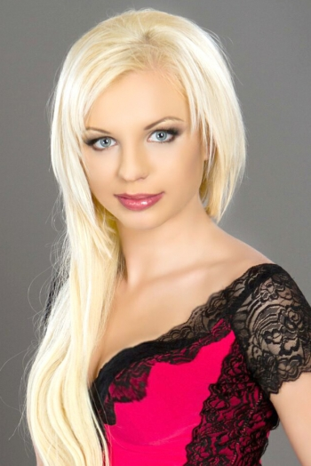 Ukrainian girl Katerina,28 years old with blue eyes and blonde hair.
