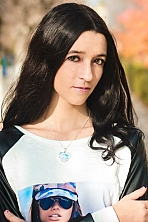 Ukrainian girl Ekaterina,27 years old with brown eyes and black hair.