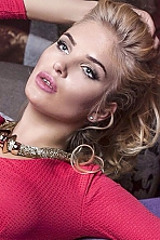 Ukrainian girl Darina,24 years old with blue eyes and blonde hair.