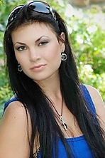 Ukrainian girl Julia,26 years old with green eyes and dark brown hair.