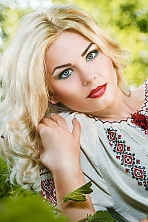 Ukrainian girl Svetlana,31 years old with blue eyes and blonde hair.