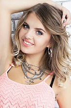 Ukrainian girl Daria,23 years old with  eyes and  hair.