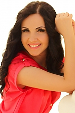 Ukrainian girl Victoria,27 years old with brown eyes and black hair.