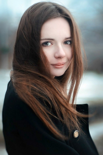 Ukrainian girl Victoria,19 years old with green eyes and light brown hair.