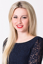 Ukrainian girl Julia,28 years old with brown eyes and blonde hair.