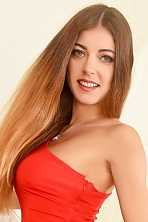Ukrainian girl Julia,28 years old with blue eyes and light brown hair.
