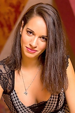 Ukrainian girl Valentina,24 years old with brown eyes and black hair.