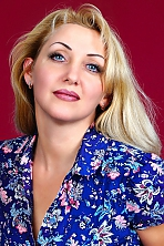 Ukrainian girl Irina,42 years old with  eyes and  hair.