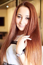 Ukrainian girl Victoria,22 years old with brown eyes and light brown hair.