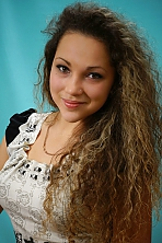 Ukrainian girl Viktoriya,20 years old with brown eyes and light brown hair.