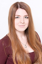 Ukrainian girl Catherine,19 years old with green eyes and red hair.
