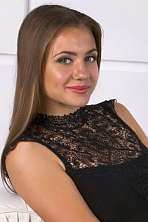 Ukrainian girl Anya,26 years old with brown eyes and blonde hair.