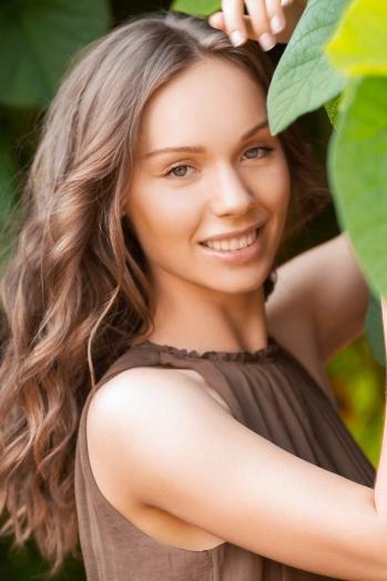 Ukrainian girl Valeriya,23 years old with green eyes and light brown hair.
