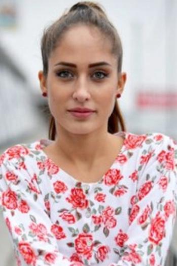 Ukrainian girl Zoryana,20 years old with grey eyes and light brown hair.
