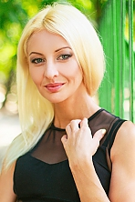 Ukrainian girl Anastasia,27 years old with blue eyes and blonde hair.