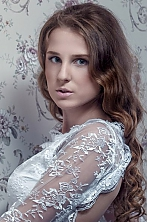 Ukrainian girl Violetta,20 years old with blue eyes and light brown hair.