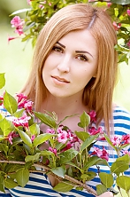 Ukrainian girl Nina,25 years old with  eyes and  hair.