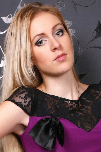 Ukrainian girl Irena,23 years old with green eyes and blonde hair.