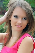 Ukrainian girl Alena,24 years old with green eyes and blonde hair.