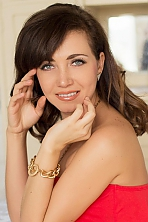 Ukrainian girl Katerina ,33 years old with brown eyes and dark brown hair.