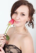 Ukrainian girl Veronica,25 years old with hazel eyes and dark brown hair.