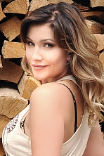 Ukrainian girl Anna,27 years old with green eyes and light brown hair.