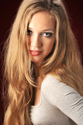Ukrainian girl Ekaterina,27 years old with blue eyes and blonde hair.