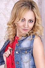 Ukrainian girl Christina,28 years old with grey eyes and blonde hair.