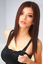 Ukrainian girl Oksana,23 years old with brown eyes and dark brown hair.