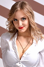 Ukrainian girl Ivana,19 years old with  eyes and  hair.