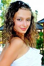 Ukrainian girl Irina,25 years old with hazel eyes and dark brown hair.