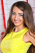 Ukrainian girl Anastasiya,25 years old with brown eyes and light brown hair.