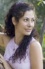 Ukrainian girl Alla,33 years old with brown eyes and dark brown hair.