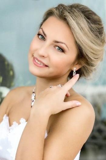 Ukrainian girl Olga,29 years old with blue eyes and blonde hair.