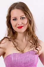 Ukrainian girl Marina,24 years old with blue eyes and blonde hair.