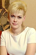 Ukrainian girl Katya ,27 years old with brown eyes and blonde hair.