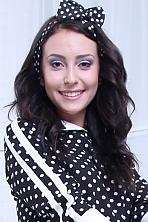 Ukrainian girl Nataliya,20 years old with brown eyes and dark brown hair.
