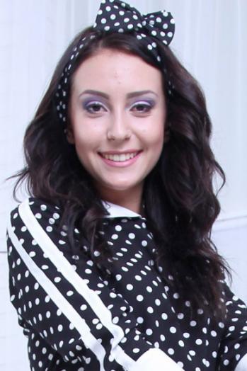 Ukrainian girl Nataliya,21 years old with brown eyes and dark brown hair.
